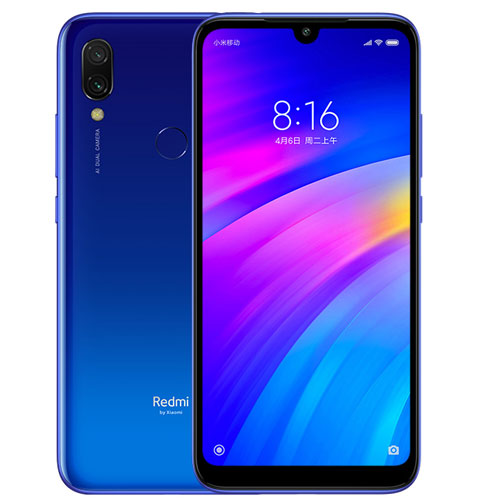 Telefon Mobil Xiaomi Redmi 7 16GB Flash 2GB RAM Dual SIM 4G Blue