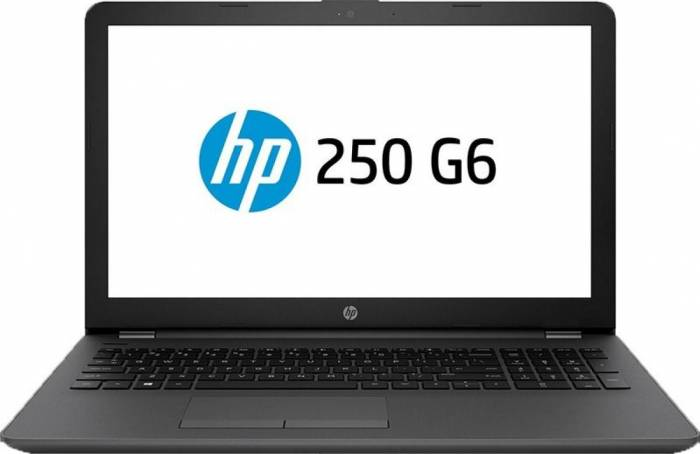 Notebook HP 250 G6 15.6 Full HD Intel Core i3-7020U Radeon 520-2GB RAM 8GB SSD 256GB FreeDOS Negru