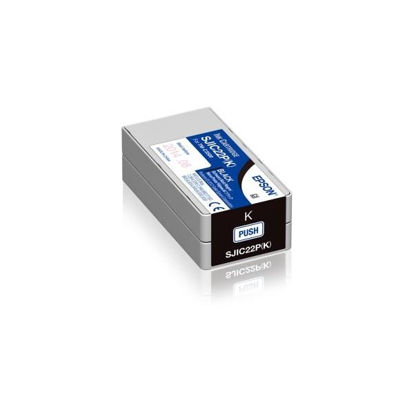 Cartus Inkjet Epson SJIC22P(K) Black