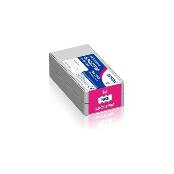 Cartus Inkjet Epson SJIC22P(M) Magenta