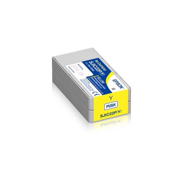 Cartus Inkjet Epson SJIC22P(Y) Yellow
