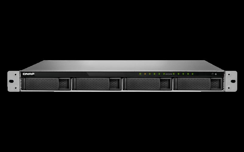 NAS Qnap TVS-972XU-RP-I3-4G 2xGigabit 9-bay fara HDD-uri