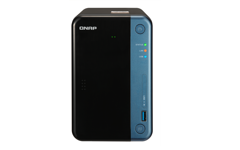 NAS Qnap TS-253BE-2G 2xGigabit 2-bay fara HDD-uri