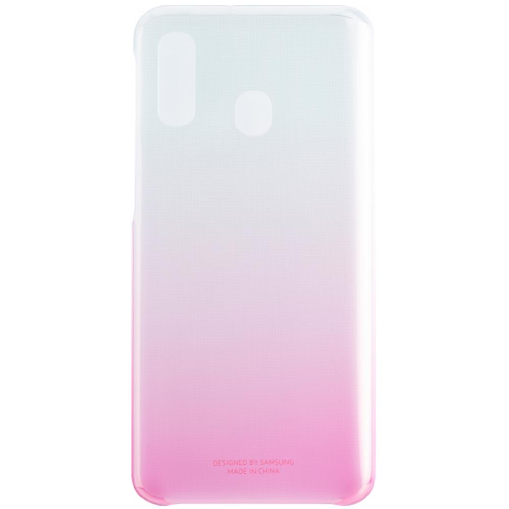 Capac protectie spate Samsung Gradation Cover pentru Galaxy A40 2019 (A405F) Pink