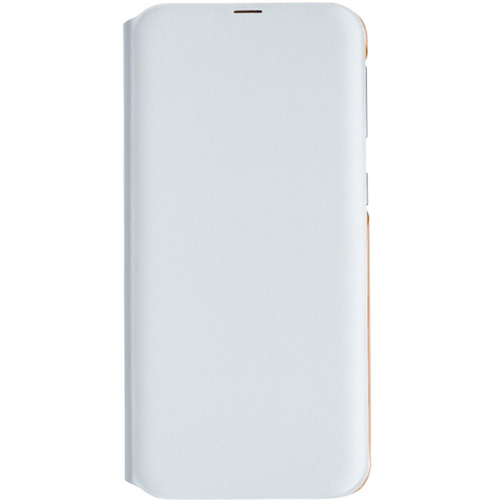 Husa Flip Wallet Samsung pentru Galaxy A40 2019 (A405F) White