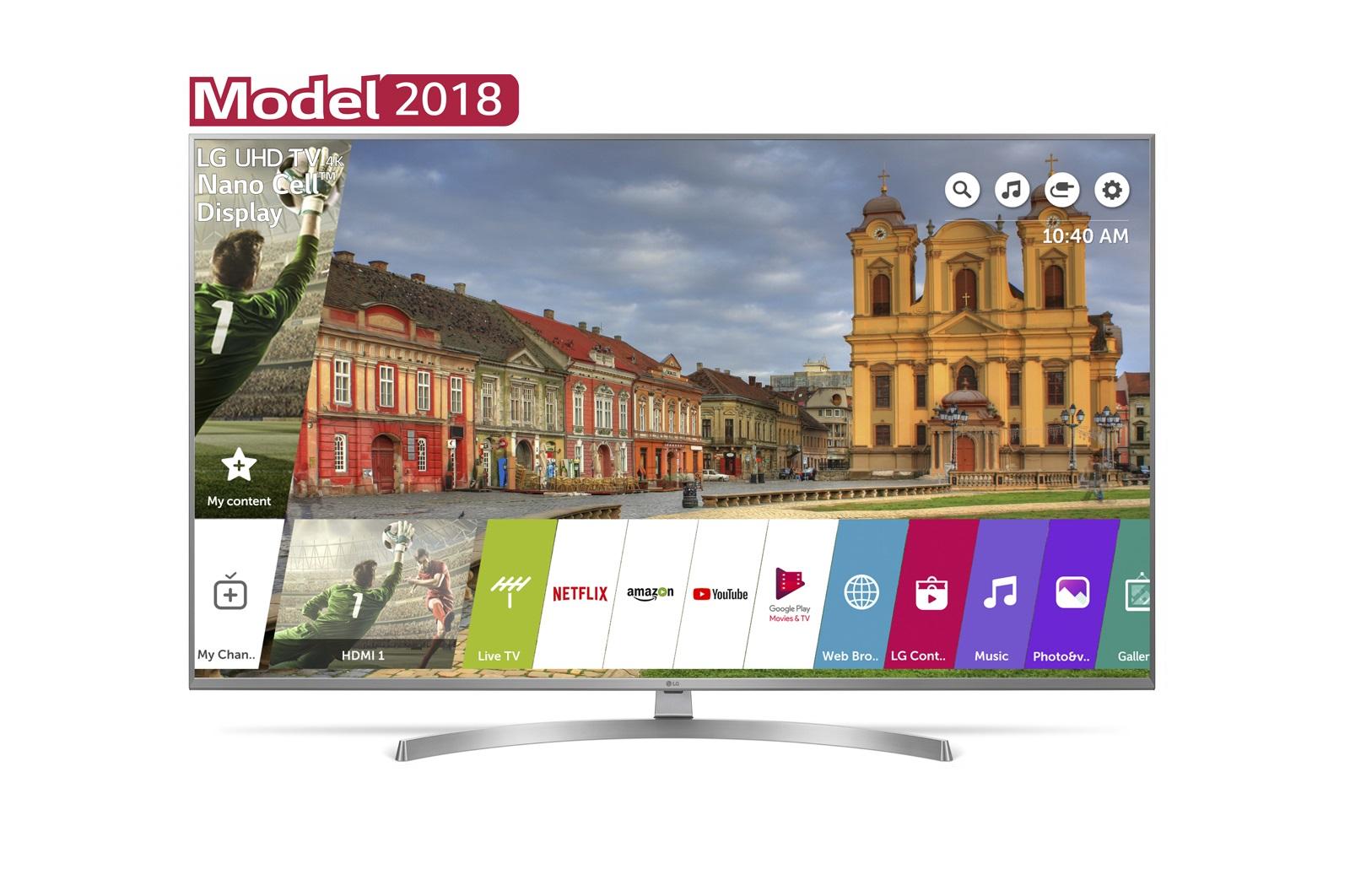 Televizor LED LG Smart TV 49UK7550MLA 124cm 4K Ultra HD Argintiu