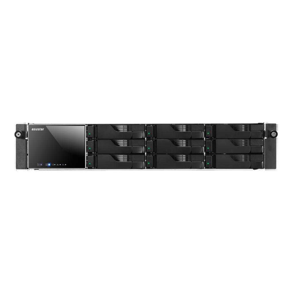 NAS Asustor AS609RS 2xGigabit 9-bay fara HDD-uri