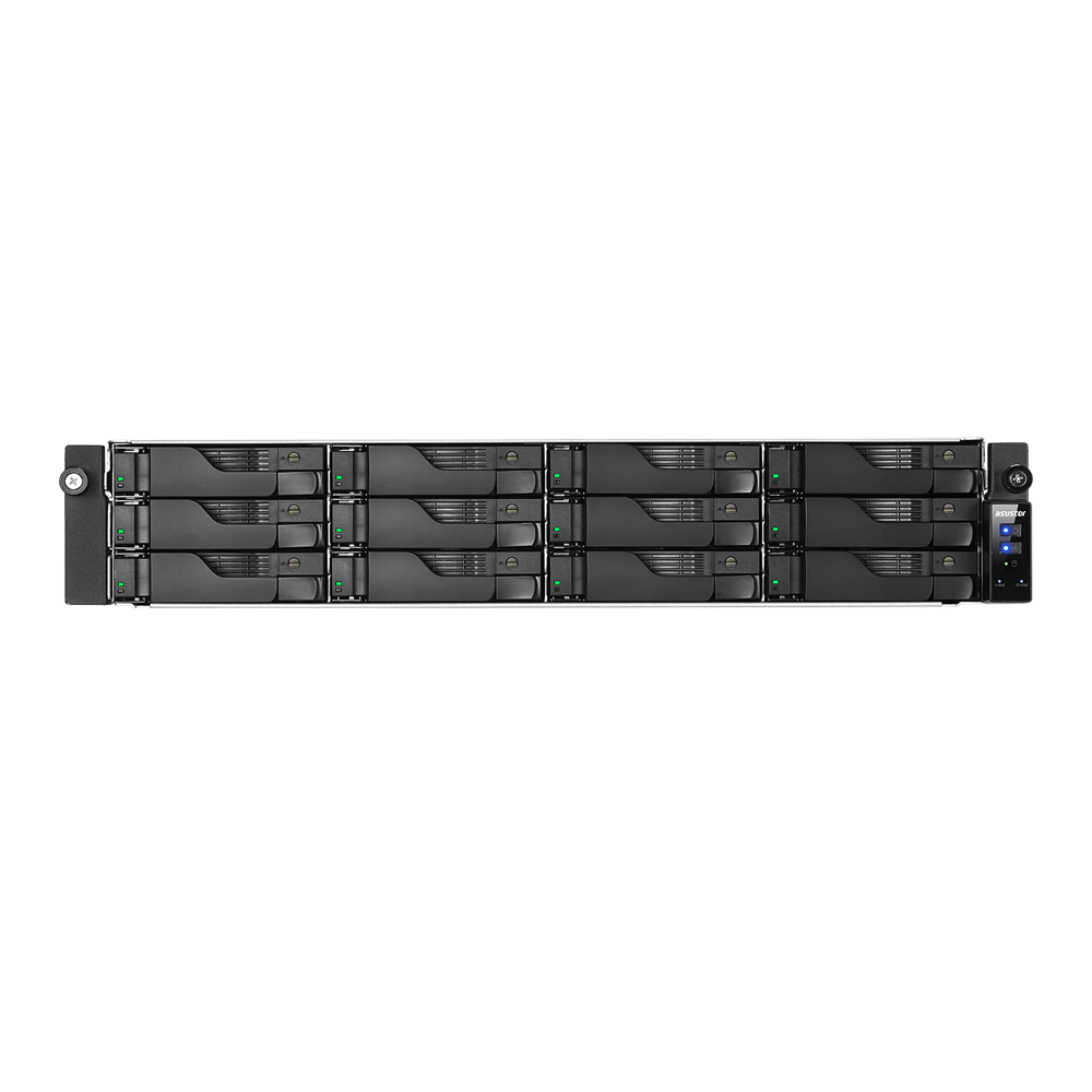 NAS Asustor AS6212RD 4xGigabit 12-bay fara HDD-uri