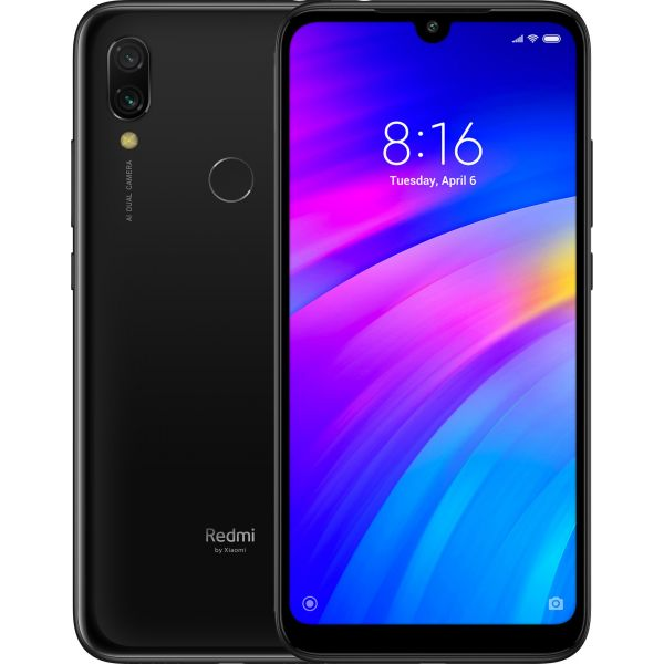 Telefon Mobil Xiaomi Redmi 7 16GB Flash 2GB RAM Dual SIM 4G Black