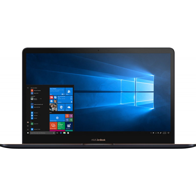 Ultrabook Asus ZenBook Pro UX550GE 15.6 Ultra HD Intel Core i7-8750H GTX 1050 Ti-4GB RAM 16GB SSD 512GB Windows 10 Pro Albastru