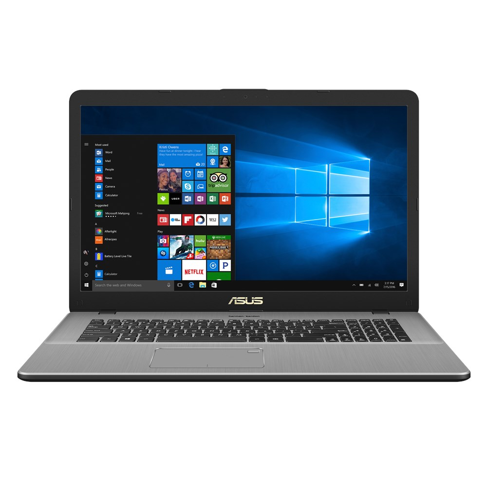 Notebook Asus VivoBook Pro N705FN 17.3 Full HD Intel Core i7-8565U MX150-2GB RAM 8GB HDD 1TB Endless Gri