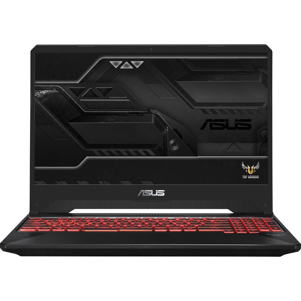 Notebook Asus FX505GD 15.6 Full HD Intel Core i7-8750H GTX 1050-4GB RAM 8GB HDD 1TB No OS Negru