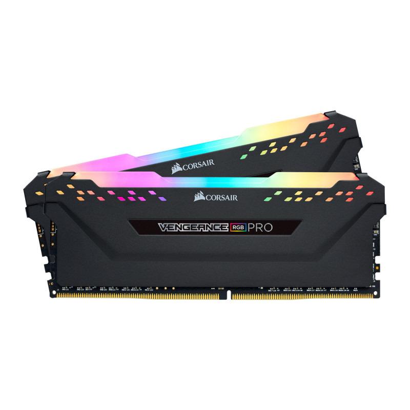 Memorie Desktop Corsair Vengeance RGB PRO 32GB(2 x 16GB) DDR4 2666MHz Black