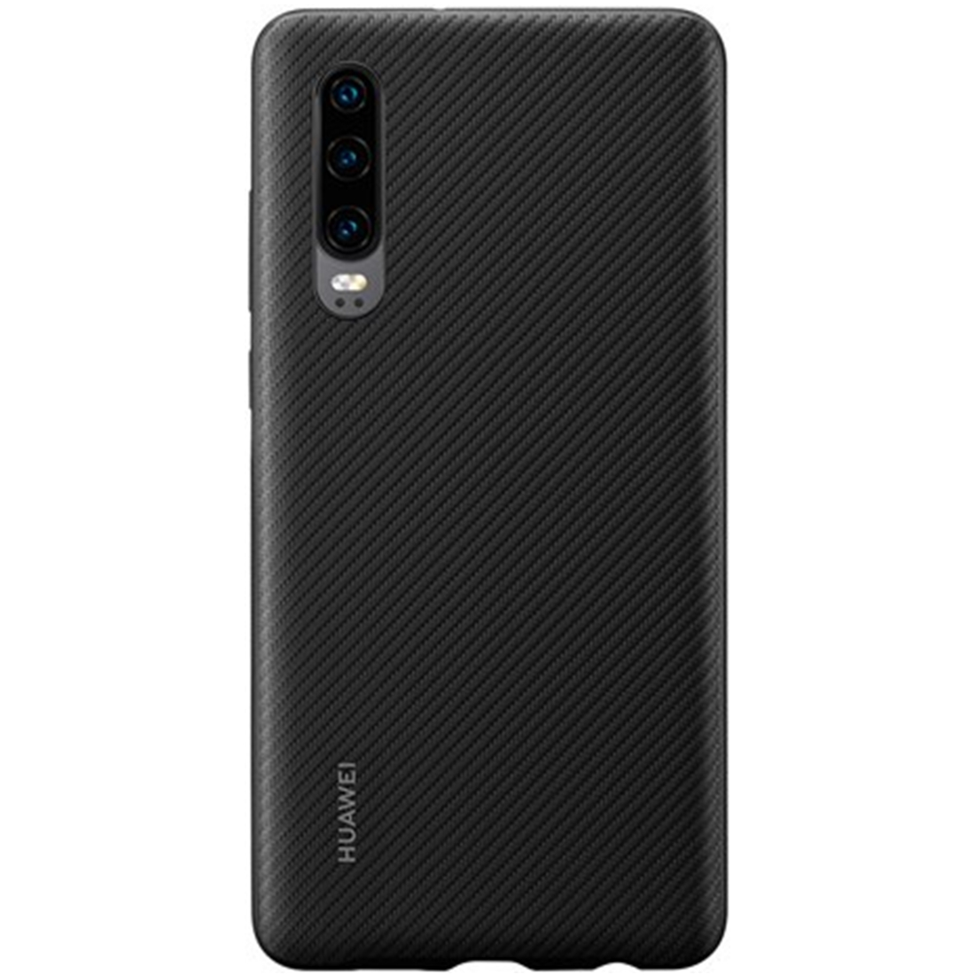 Capac protectie spate Huawei PU Cover pentru Huawei P30 Black
