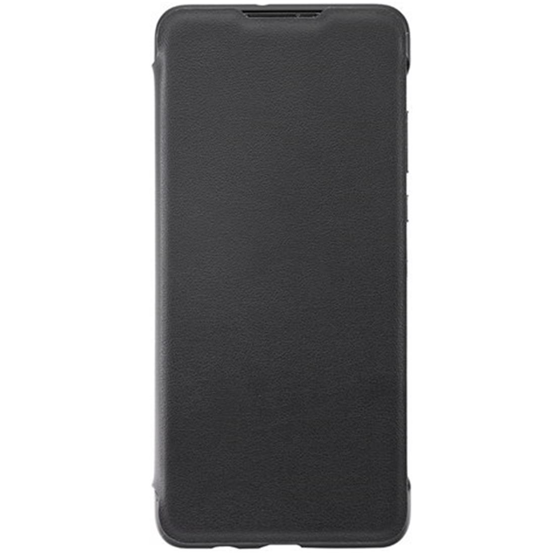 Husa Huawei Flip Wallet Cover pentru Huawei P30 Lite Black