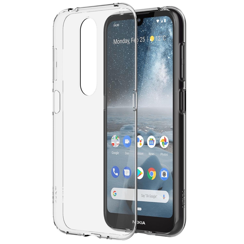 Capac protectie spate Clear Case pentru Nokia 4.2 Transparent