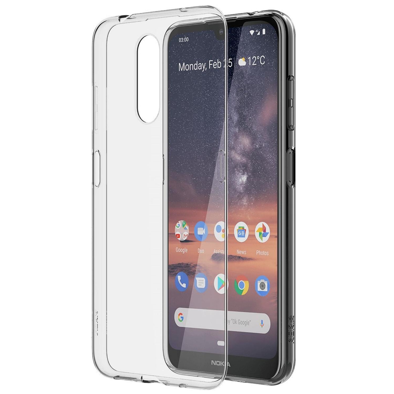 Capac protectie spate Clear Case pentru Nokia 3.2 (32 GB) Transparent