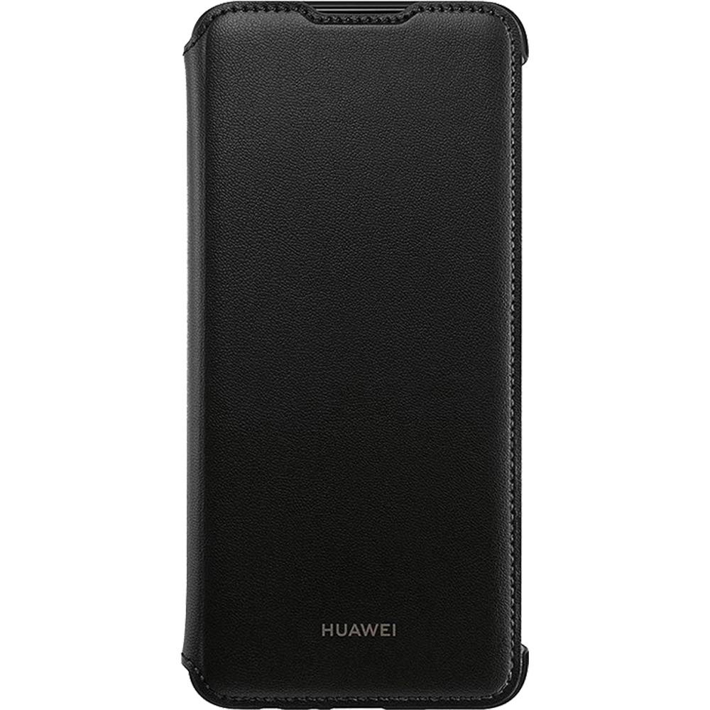 Husa Huawei Flip Cover pentru Huawei P Smart (2019) Black
