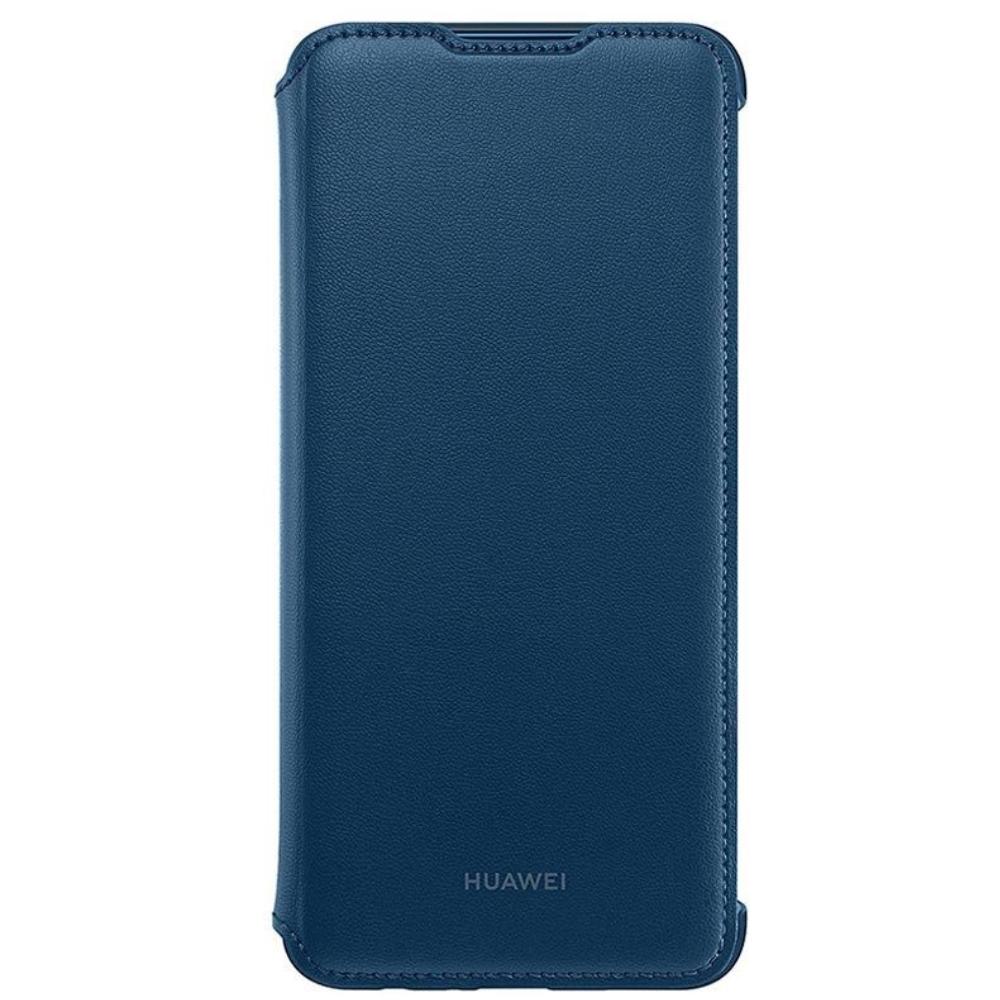 Husa Huawei Flip Cover pentru Huawei P Smart (2019) Blue