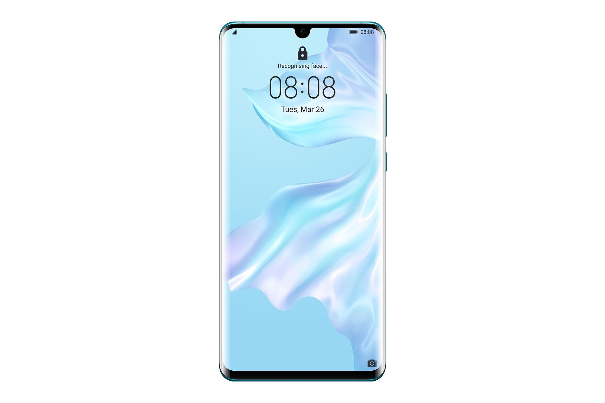 Telefon Mobil Huawei P30 Pro 128GB Flash 8GB RAM Dual SIM 4G Breathing Crystal
