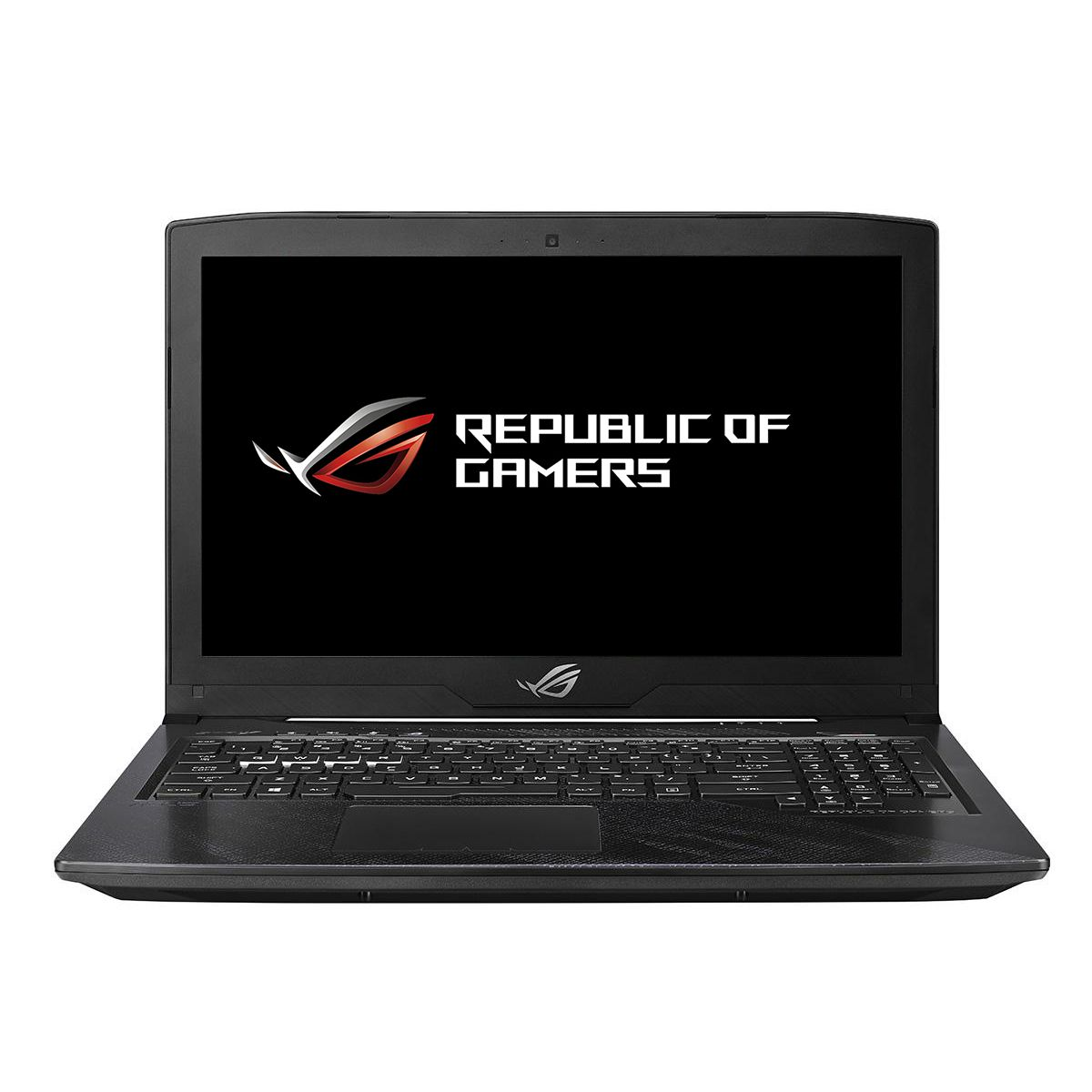 Notebook Asus ROG GL503GE 15.6 Full HD Intel Core i7-8750H GTX 1050 Ti-4GB RAM 8GB HDD 1TB + SSD 256GB No OS Negru