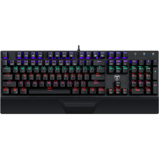 Tastatura Gaming T-Dagger Destroyer Switch Outemu Blue