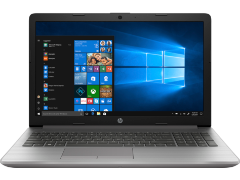 Notebook HP 250 G7 15.6 Full HD Intel Core i3-7020U RAM 8GB SSD 256GB Windows 10 Pro Argintiu