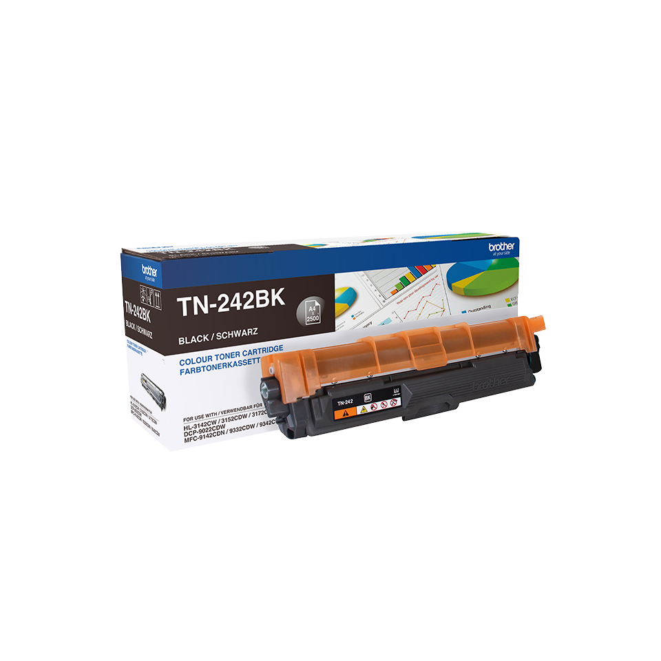 Cartus Toner Brother TN-242BK 2500 pagini Black