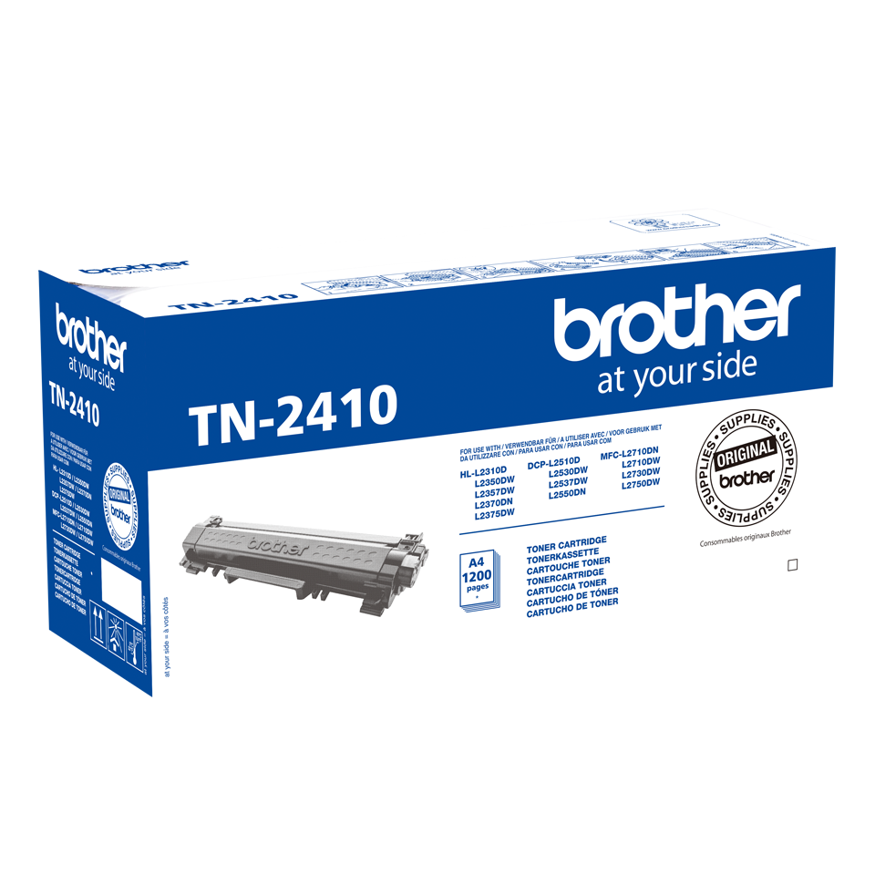 Cartus Toner Brother TN-2410 1200 pagini Black