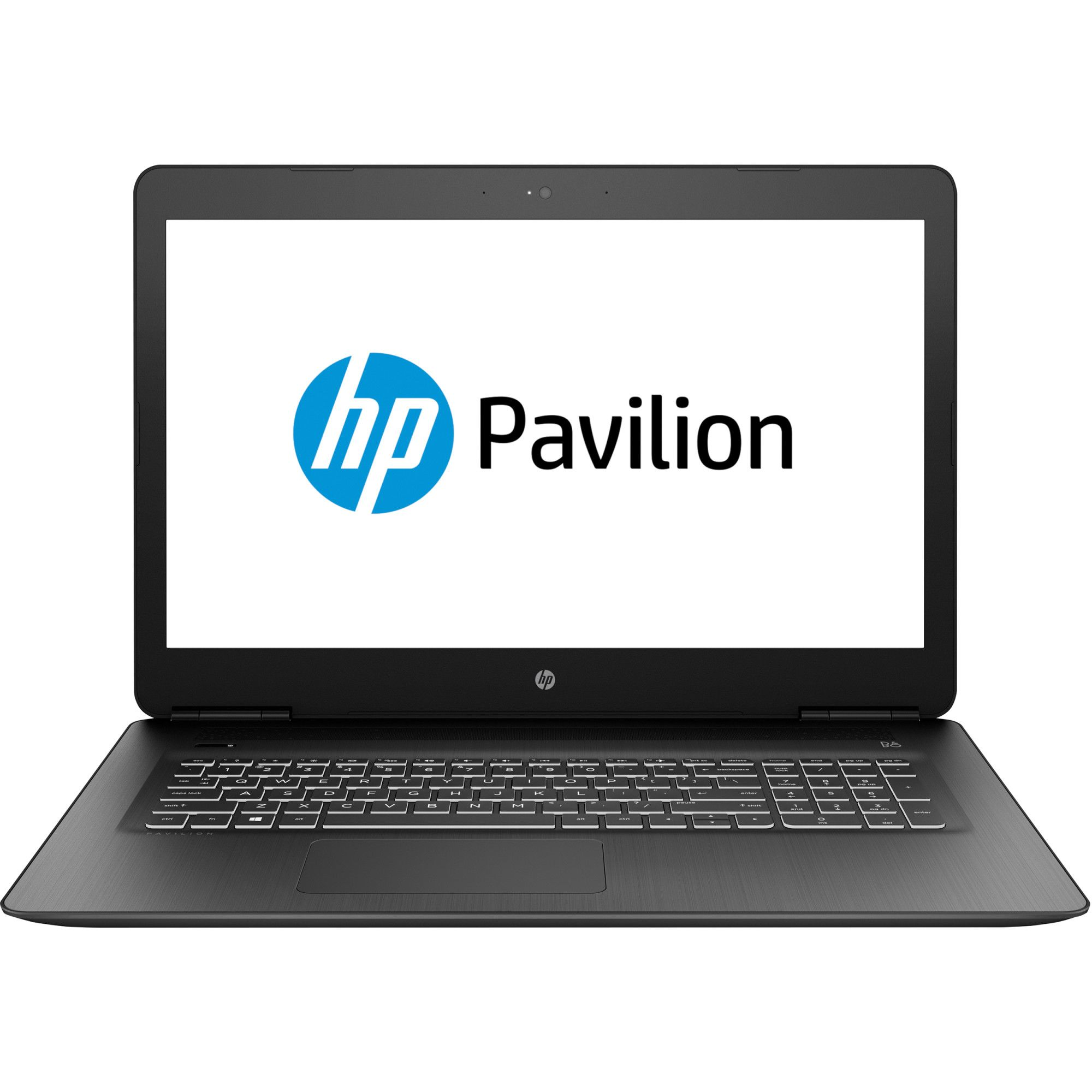 Notebook HP Pavilion 17.3 Full HD Intel Core i5-8300H GTX 1050 Ti-4GB RAM 8GB HDD 1TB FreeDOS Negru