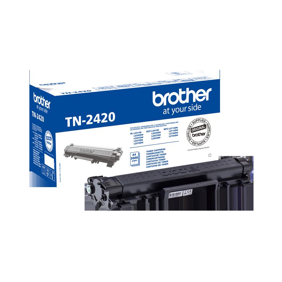 Cartus Toner Brother TN-2420 3000 pagini Black