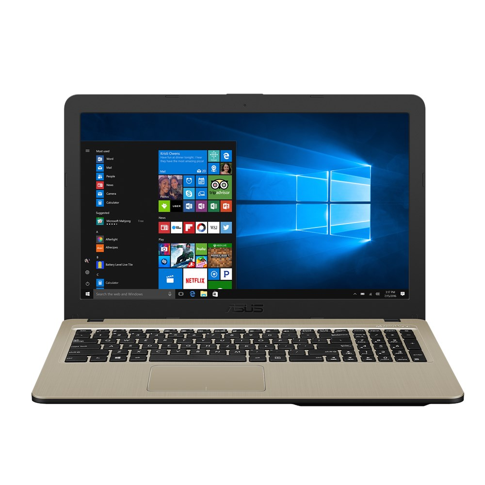 Notebook Asus X540UB 15.6 Full HD Intel Core i3-7020U MX110-2GB RAM 4GB HDD 1TB Windows 10 Negru
