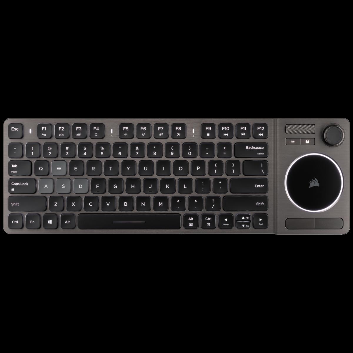 Tastatura Entertainment Corsair K83 Wireless Black