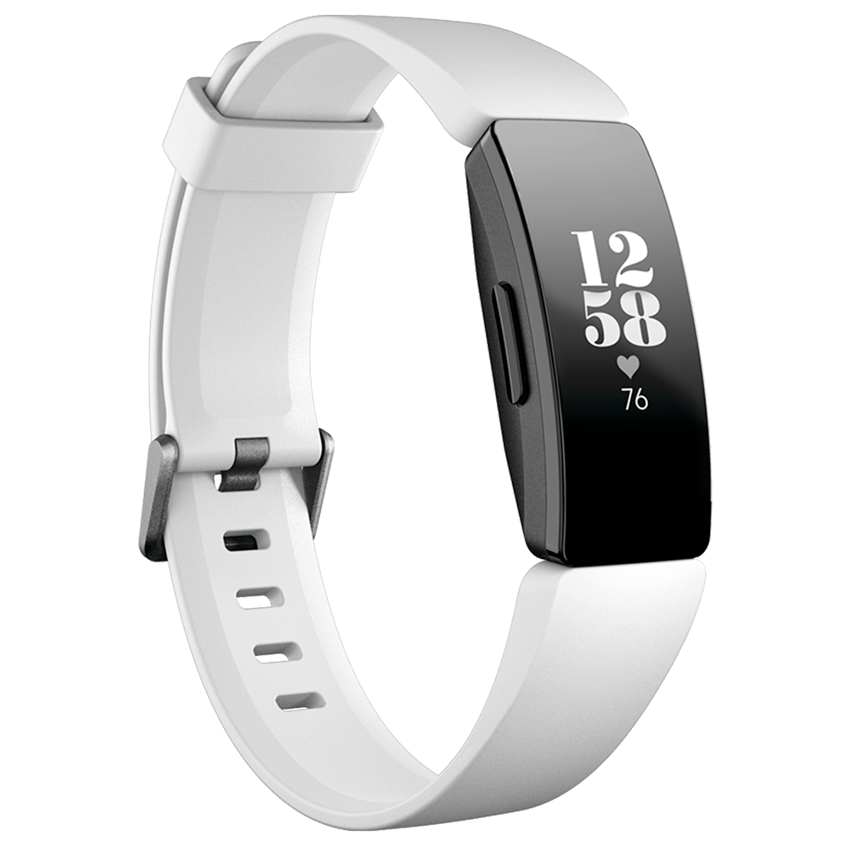 Bratara Fitness Fitbit Inspire HR White/Black