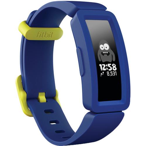 Bratara Fitness Fitbit Ace 2 Night Sky + Neon Yellow