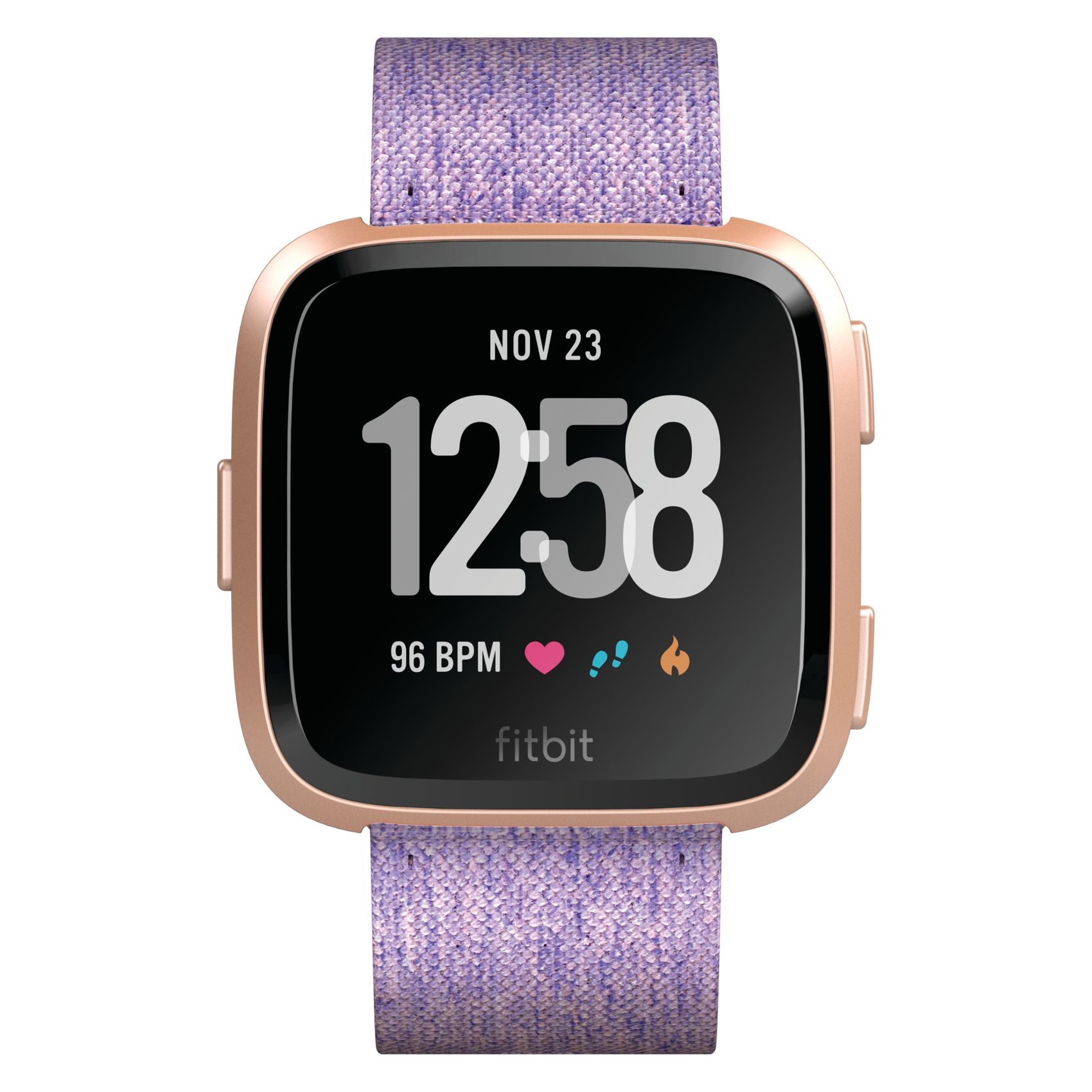 Smartwatch Fitbit Versa (NFC) - Lavender Woven