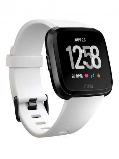 Smartwatch Fitbit Versa (NFC) - White Band / Black Case