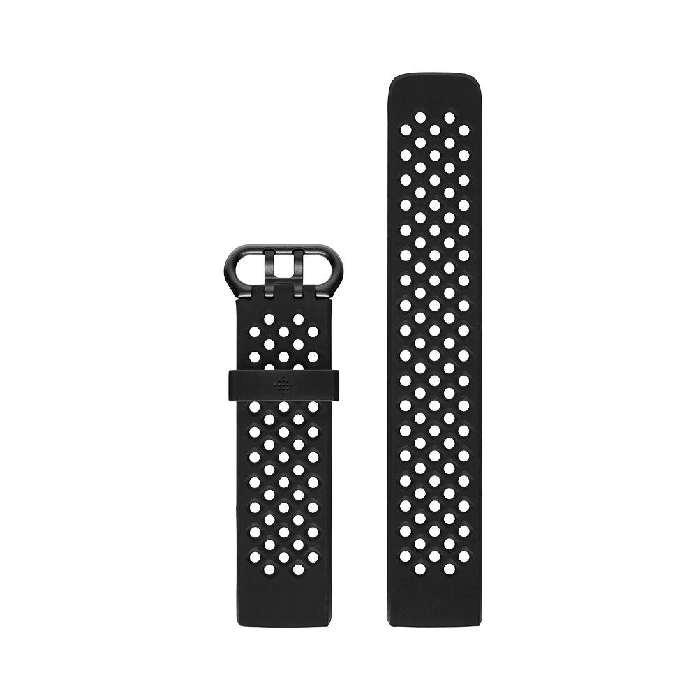 Curea Fitbit pentru Charge 3 Sport Band Large Black