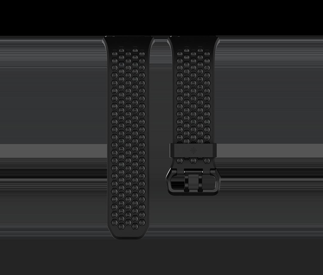 Curea Fitbit pentru Ionic Sport Band Large Black/Charcoal