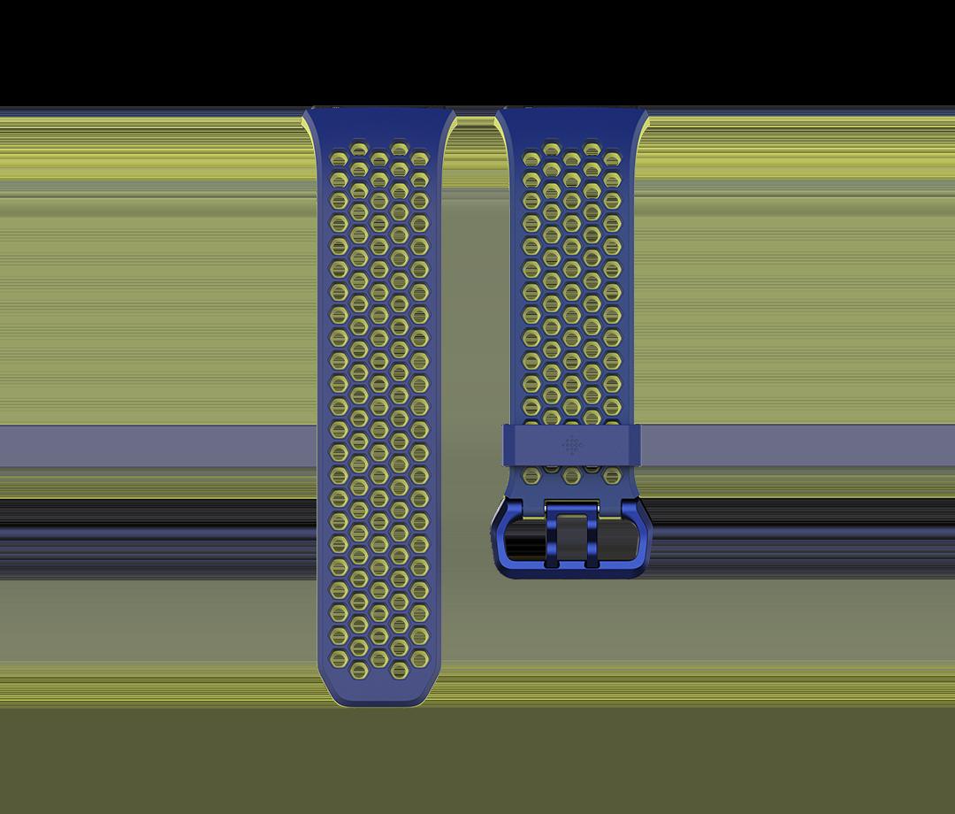 Curea Fitbit pentru Ionic Sport Band Small Cobalt/Lime