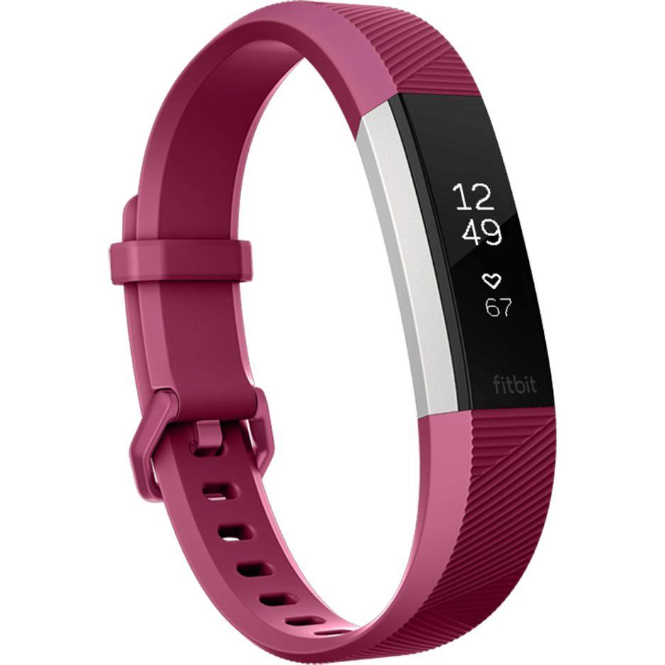 Bratara Fitness Fitbit Alta HR Small Fuchsia