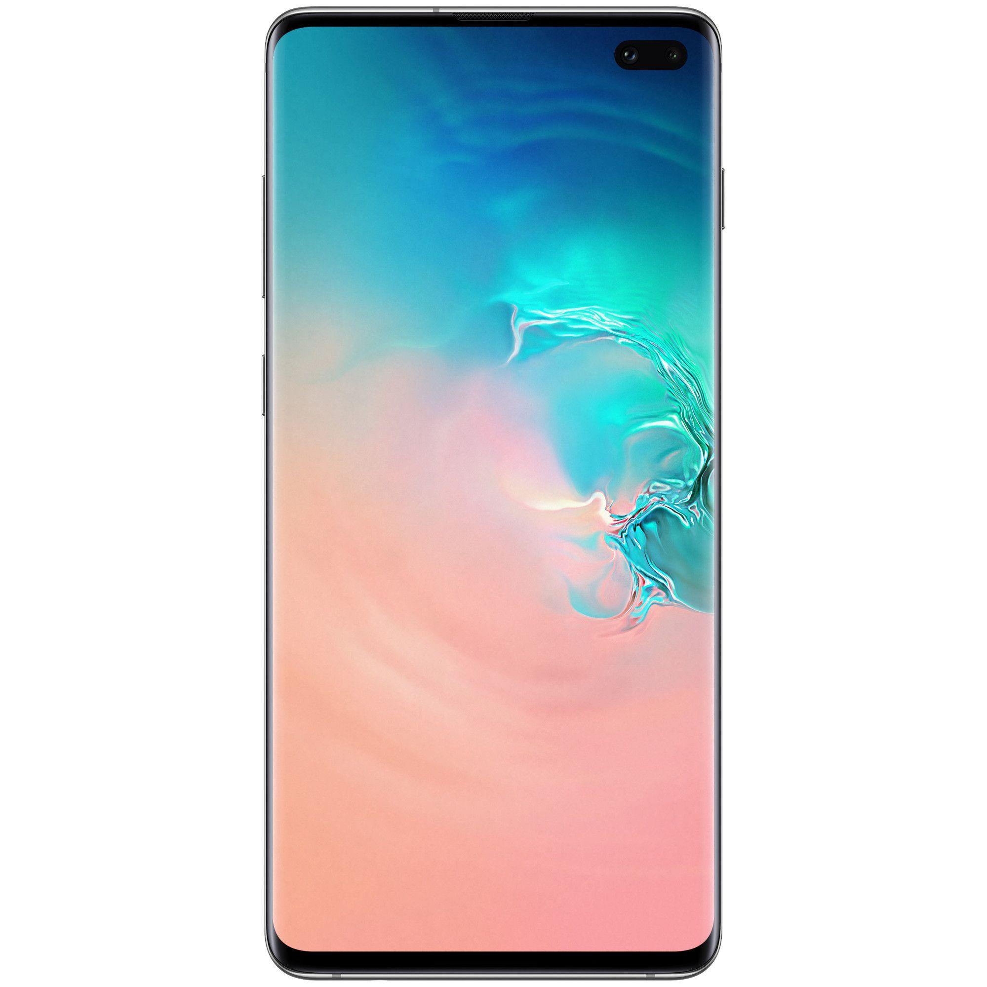 Telefon Mobil Samsung Galaxy S10+ G975 512GB Flash 8GB RAM Dual SIM 4G Prism White