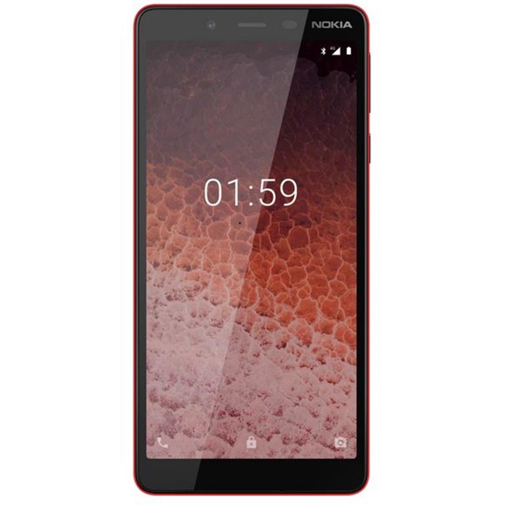 Telefon Mobil Nokia 1 Plus 8GB RAM Flash 1GB RAM Dual SIM 4G Red