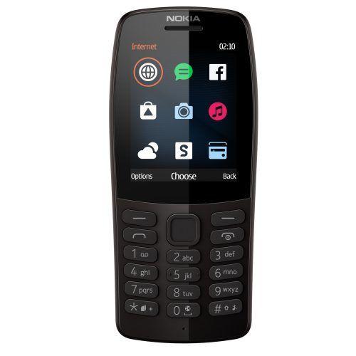 Telefon Mobil Nokia 210 (2019) Dual SIM Black