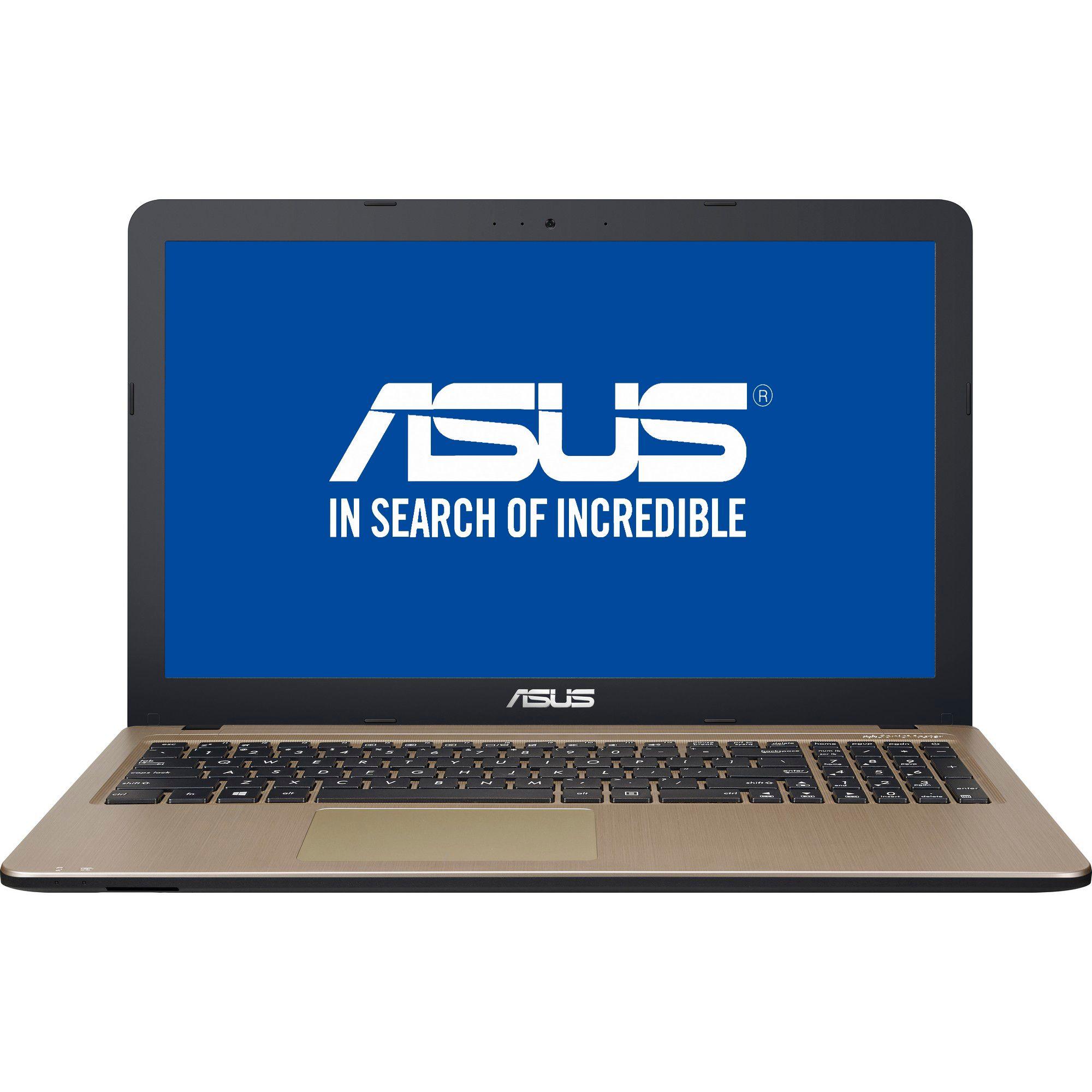 Notebook Asus VivoBook X540UA 15.6 Full HD Intel Core i3-7020U RAM 4GB HDD 1TB Endless Negru