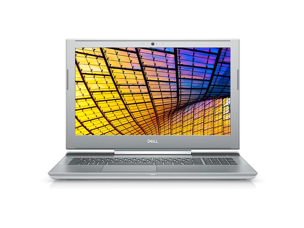 Notebook Dell Vostro 7580 15.6 Full HD Intel Core i7-8750H GTX 1060 Max Q-6GB RAM 16GB HDD 1TB + SSD 256GB Windows 10 Pro Argintiu