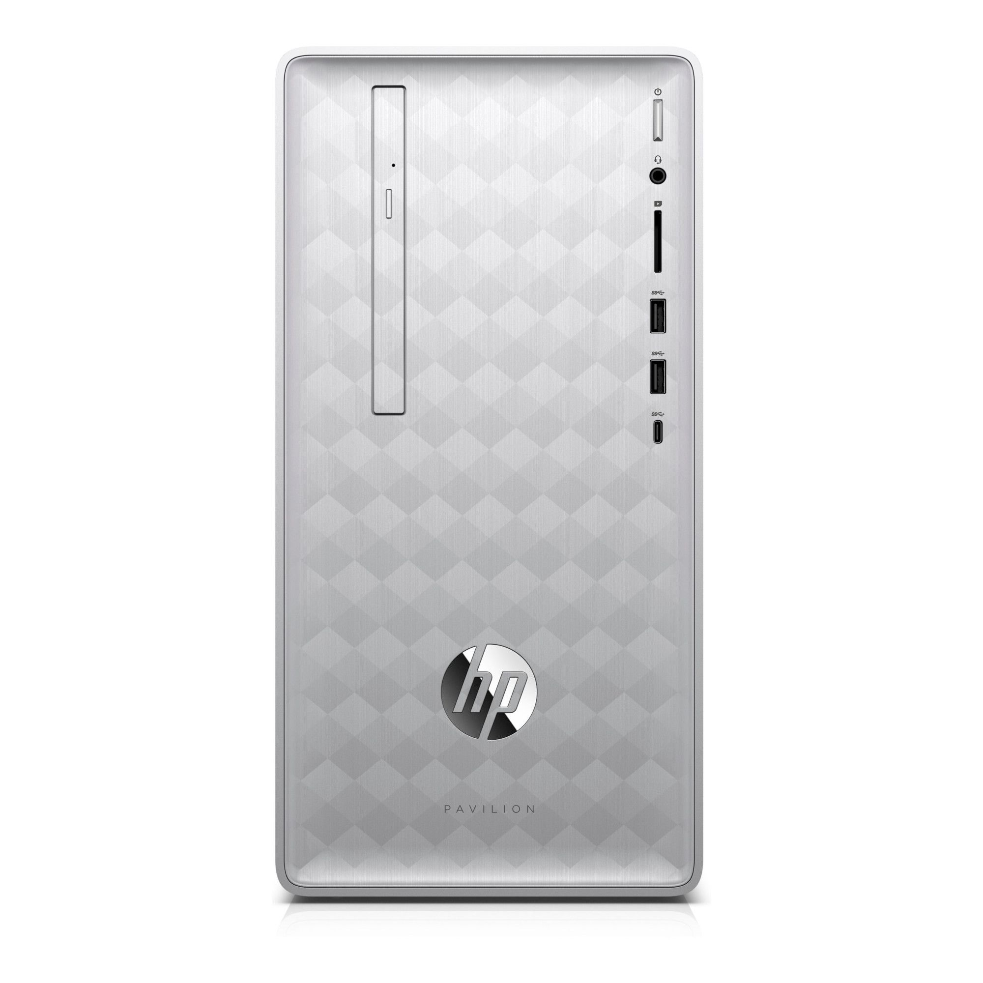 Sistem Brand HP Pavilion Intel Core i5-8400 GTX 1050 Ti-4GB RAM 8GB HDD 1TB FreeDOS Argintiu