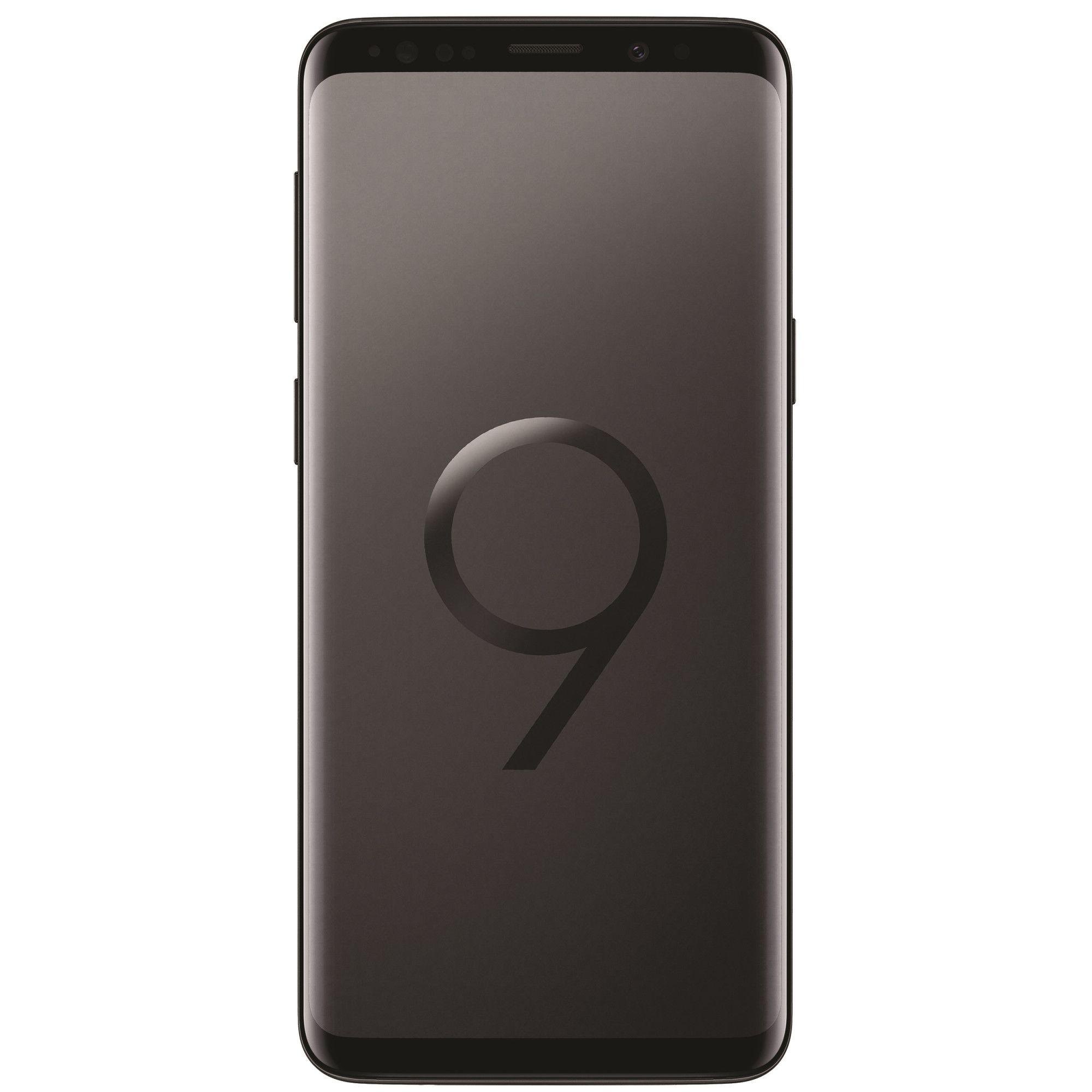 Telefon Mobil Samsung Galaxy S9 G960F 128GB Flash 4GB RAM Dual SIM 4G Midnight Black