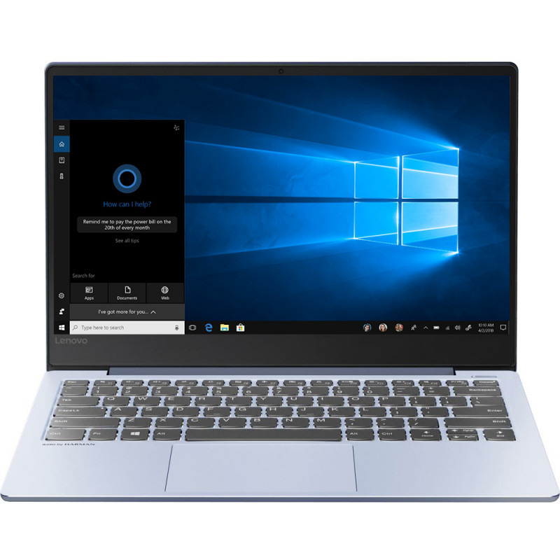Ultrabook Lenovo IdeaPad S530 13.3 Full HD Intel Core i7-8565U MX150-2GB RAM 16GB SSD 512GB FreeDOS Albastru