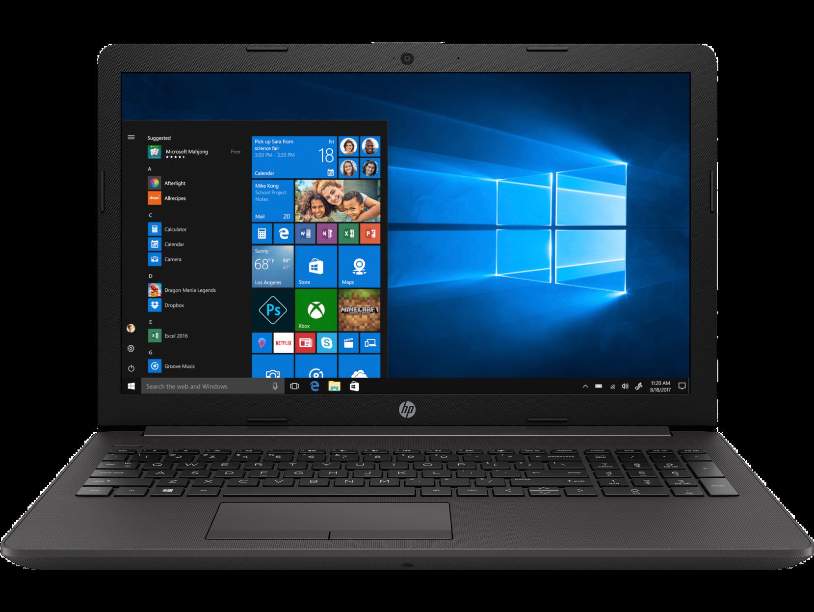 Notebook HP 250 G7 15.6 Full HD Intel Core i5-8265U MX110-2GB RAM 8GB SSD 256GB Windows 10 Pro Negru